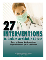 27 Interventions to Reduce Avoidable ER Use